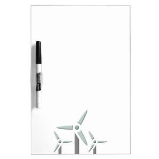 Ruedas de paletas windmills pizarras blancas