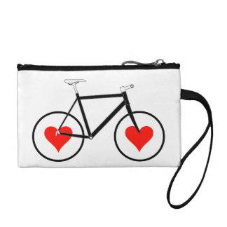 Ruedas del corazón de la bici