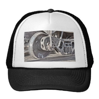 Ruedas del tren gorra