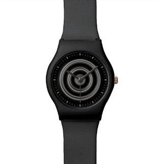 Ruedas dentro del reloj del diseñador de las rueda