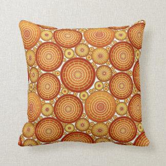 Ruedas jerarquizadas - cobre y oro almohadas