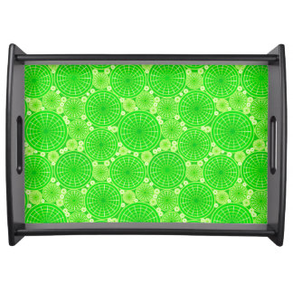 Ruedas jerarquizadas - verde lima bandejas
