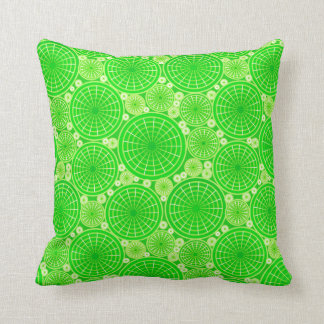 Ruedas jerarquizadas - verde lima cojín