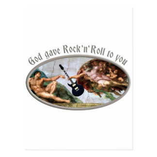 Ruedas to God rock gave and you Tarjetas Postales