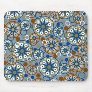 Ruedas y modelo abstractos de los círculos tapetes de ratón