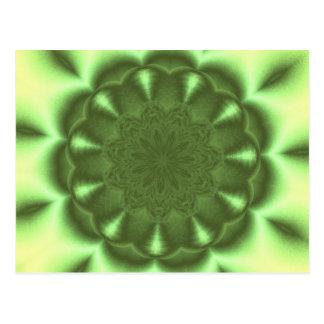 Ruede adentro el verde tarjetas postales