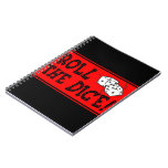 Ruede los dados spiral notebooks