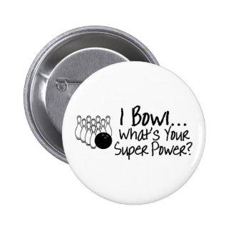 Ruedo cuál es su superpoder pin redondo 5 cm