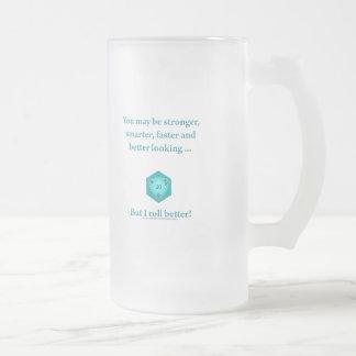 Ruedo mejor taza de cristal