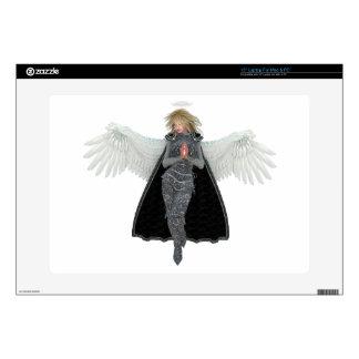 Ruegue el ángel del mensajero skins para portátil