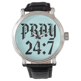 Ruegue el reloj del 24:7