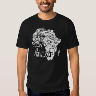 Ruegue para África Camisas