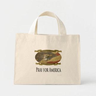 Ruegue para América, haciendo compras/lleve el bol Bolsa