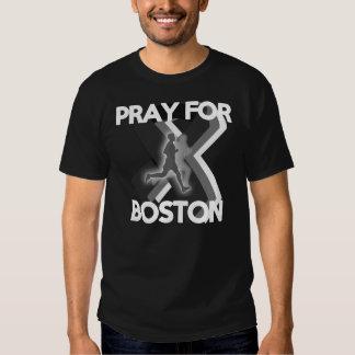 Ruegue para Boston 2013 Polera