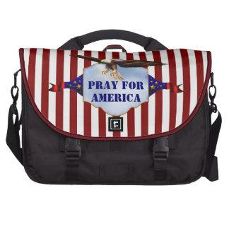 Ruegue para el bolso cristiano del ordenador portá bolsa para ordenador