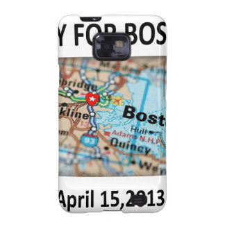 Ruegue para el mapa de Boston Samsung Galaxy SII Funda