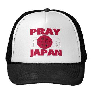 """""""Ruegue para gorra del alivio del 日本のために祈る de Japó"""