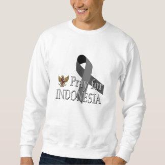 Ruegue para Indonesia Sudadera