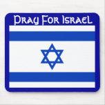 Ruegue para Israel Tapete De Raton