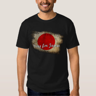 Ruegue para Japón Camisas