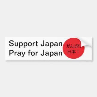 Ruegue para Japón Pegatina Para Auto
