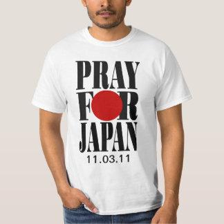 Ruegue para Japón Polera