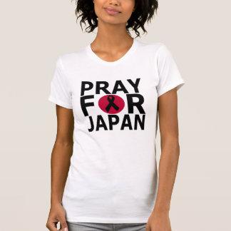Ruegue para Japón Remeras