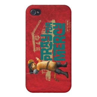 Ruegue para la misericordia 2 (azules) iPhone 4 fundas