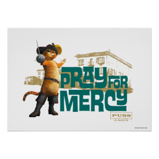 Ruegue para la misericordia 2 azules poster