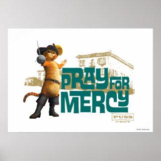 Ruegue para la misericordia 2 (azules) póster