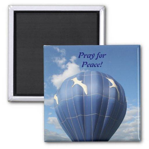 Ruegue para la paz, imán del rezo