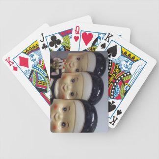 Ruegue para la suerte baraja cartas de poker