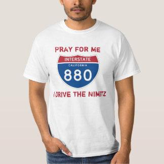 Ruegue para mí que conduzco la camiseta de Nimitz
