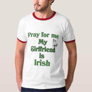 Ruegue para mí que mi novia es irlandesa polera