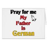 Ruegue para mí que mi padre es alemán felicitacion