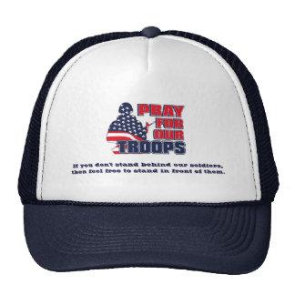 Ruegue para nuestras tropas gorra