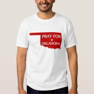 Ruegue para Oklahoma Playera