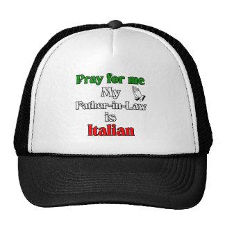 Ruegue para que mí el suegro es italiano gorras de camionero