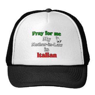 Ruegue para que mí la suegra es italiana gorros