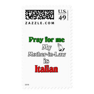 Ruegue para que mí la suegra es italiana sellos