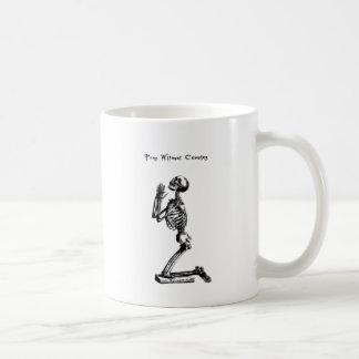 Ruegue sin el cese tazas de café