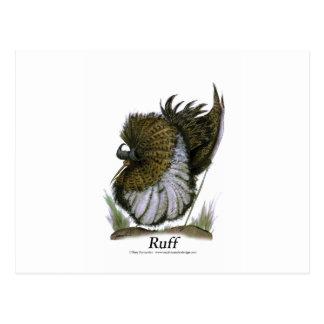 Ruff bird, tony fernandes postcard