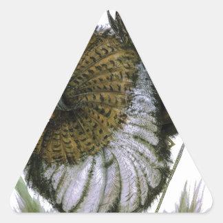 Ruff bird, tony fernandes triangle sticker