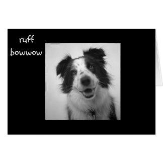 """RUFF BOWWOW """"40th BIRTHDAY"""" Card"""