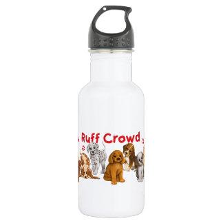Ruff Crowd 18oz Water Bottle