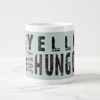 RUFF*DRAFTS jumbo coffee mug