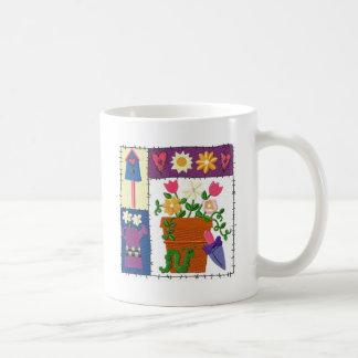 Ruff Patch Garden Design Coffee Mug