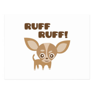 Ruff Ruff Postcard