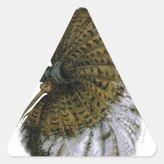 ruff wild bird, tony fernandes triangle sticker