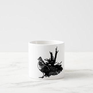 Ruffed Grouse Espresso Cup